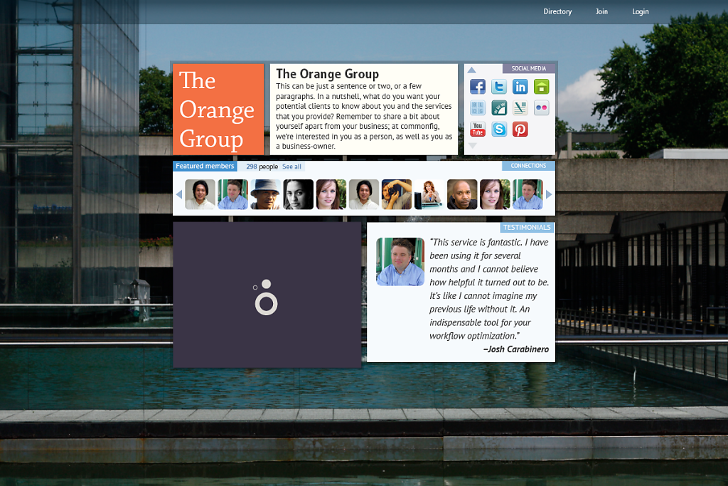 community-project-Group-landing-page-not-logged-in.png